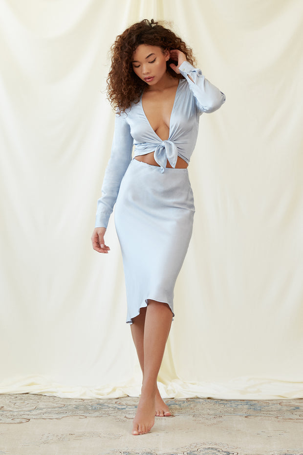 Kate Skirt in Ice Blue