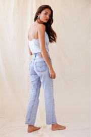Kate Top in Ice Blue