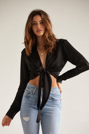 Josefine Blouse in Black