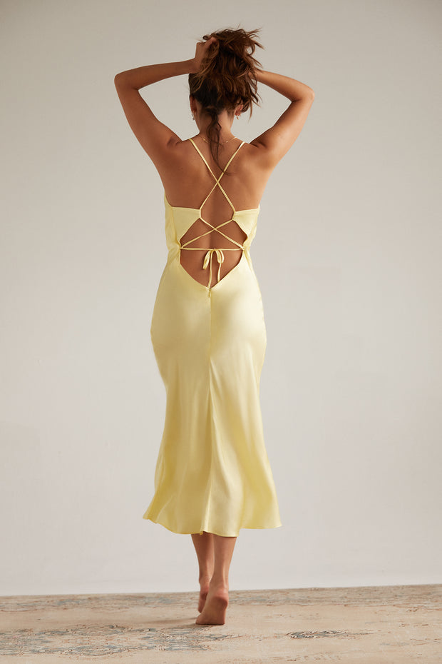 Kate Dress in Banana