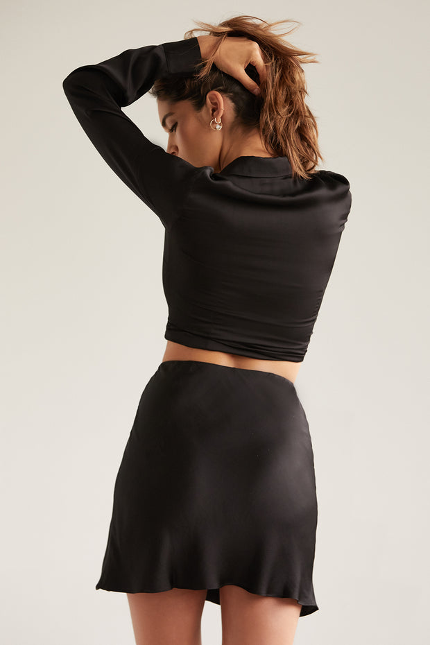 Kate Mini Skirt in Black