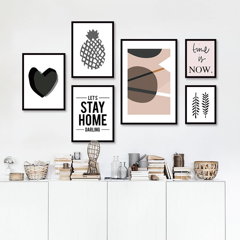 Nordic Home Decor Wall Art Canvas   Neat Collections, Elegant, Home Decor  ...