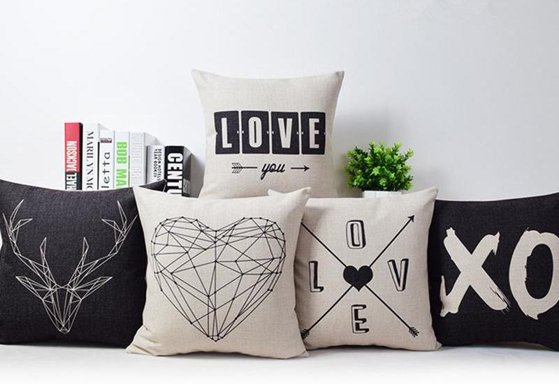 Romantic Modern Decorative Pillow Covers Neat Collections