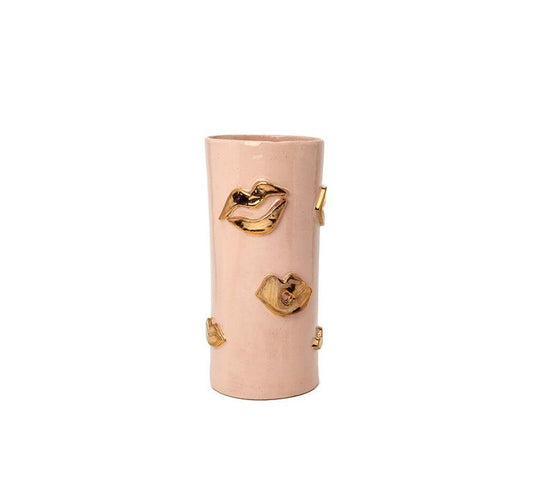 Tall Kiss Vase - Blush - Lux Eros
