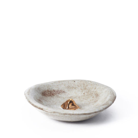Tiny Pyramid Bowl - Snow - Lux Eros