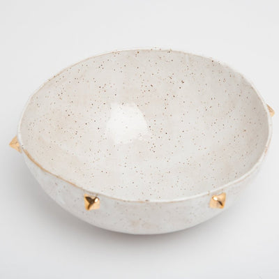 VANILLA SKY PYRAMID BOWL - SERVING