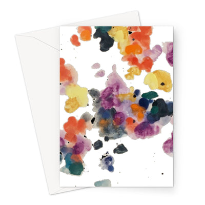 Cy Dye Cards Greeting Card