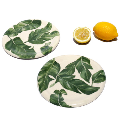 Indochine Salad Plate - 2 piece set - Lux Eros