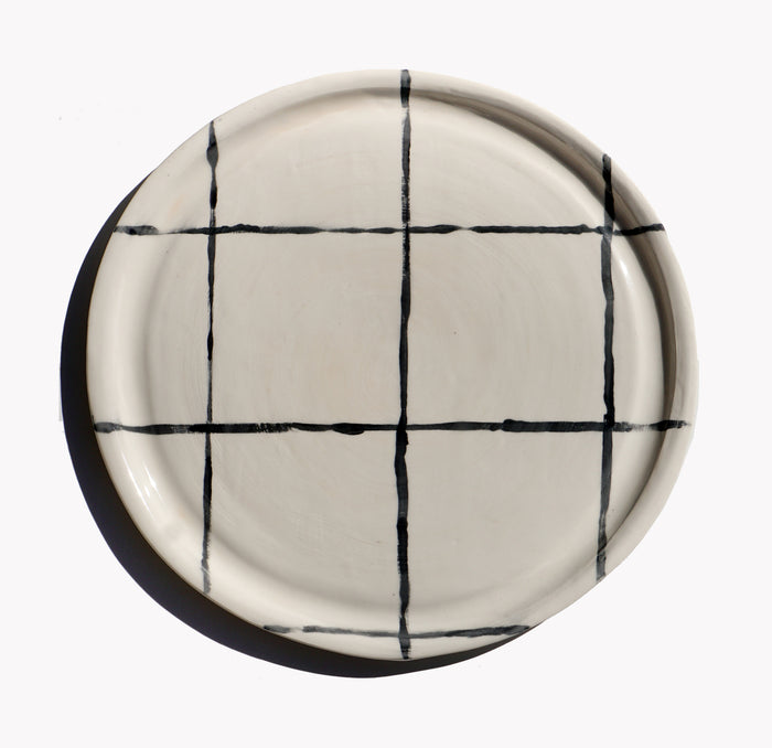 Tron Dinner Plate - Lux Eros