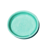 Medium Shallow Serving Bowl - Aqua - Lux Eros