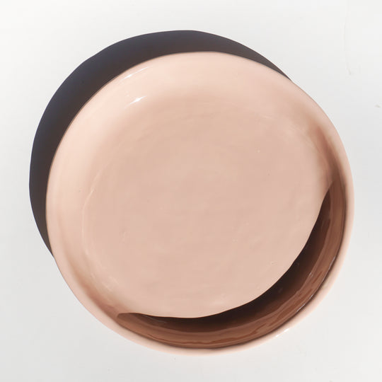Large Shallow Bowl - Blush - Lux Eros