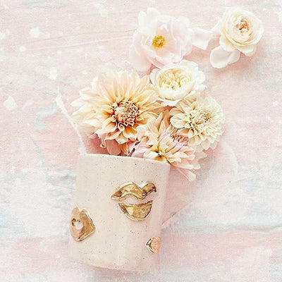 Small Kiss Vase - Blush - Lux Eros
