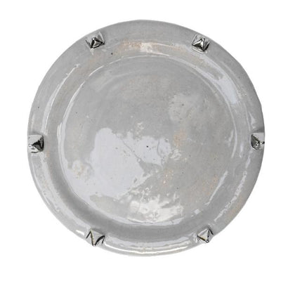 Pyramid Salad Plate - Sterling - Lux Eros