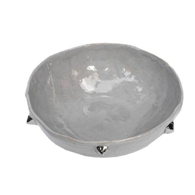 STERLING PYRAMID BOWL - STANDARD