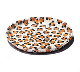 Large Shallow Serving Bowl - Leopard - Lux Eros