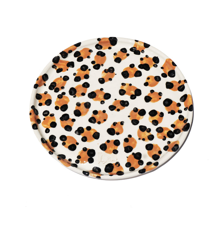 Leopard Dinner Plate - Lux Eros