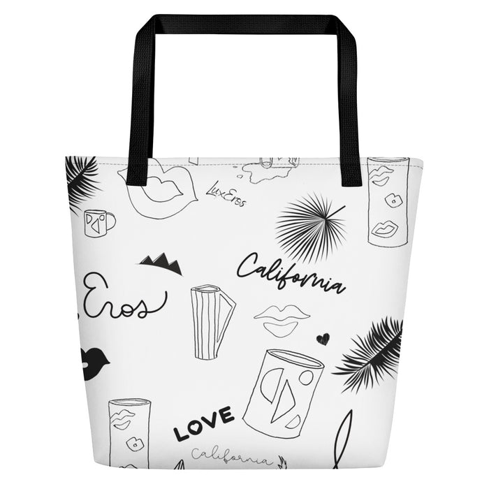 Lux Icons Beach Bag - Lux Eros