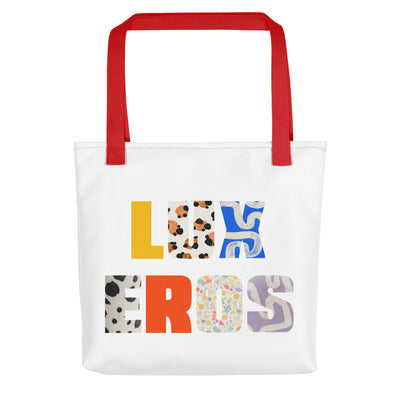 Print Block Tote bag