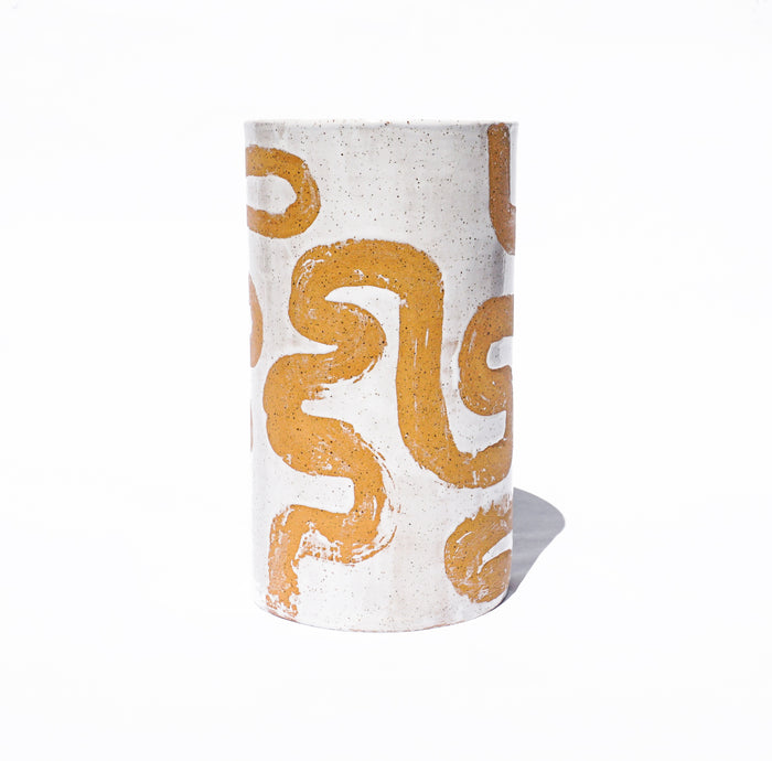 Natural Batik Vase - Tall - Lux Eros