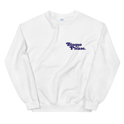 Bisque Please Crew Neck Sweatshirt