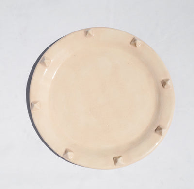 Pyramid Dinner Plate - Nude - Lux Eros