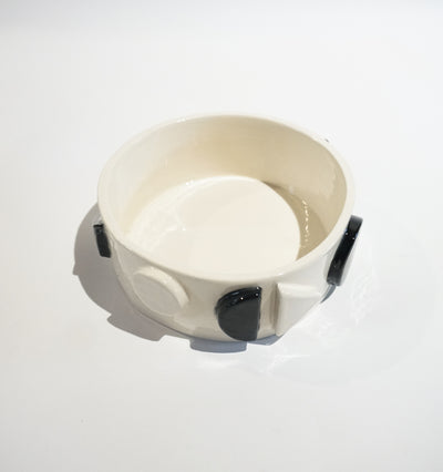 Black & White Geo Pet Bowl
