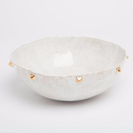 Pyramid Serving Bowl - Vanilla - Lux Eros