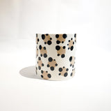 White Leopard Planter