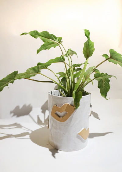 Natural Kiss Planter
