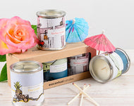Chill Out gift set - 3 candles