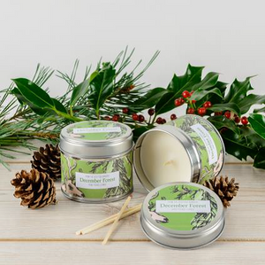 Christmas Scented Tins