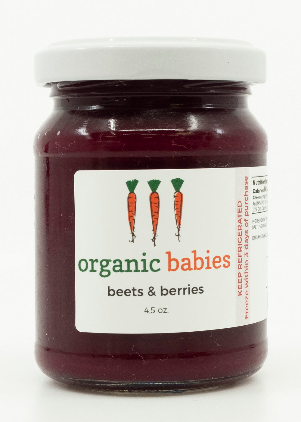 Beets & Berries Puree