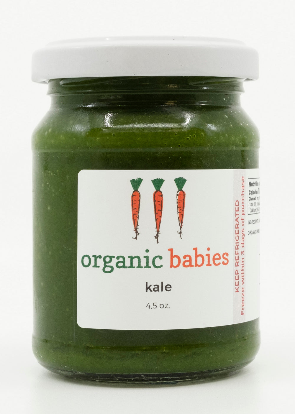 Kale Puree: 4.5oz
