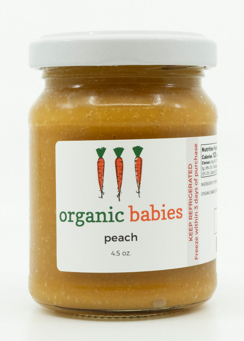 Peach Puree: 4.5oz