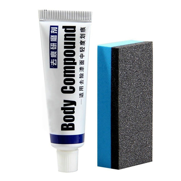 Car Body Compound Paste And Pad Set