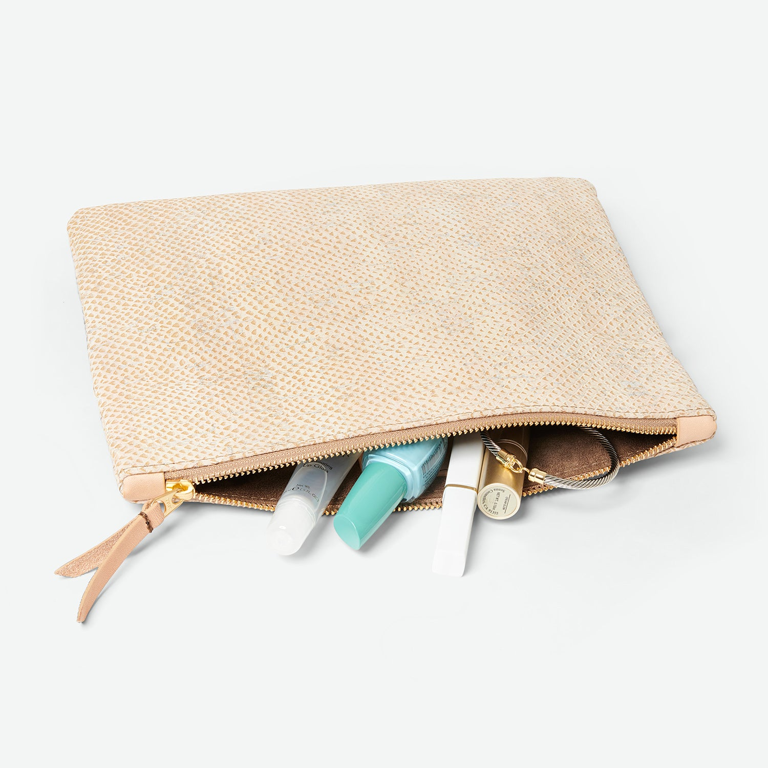 cork accessories bag