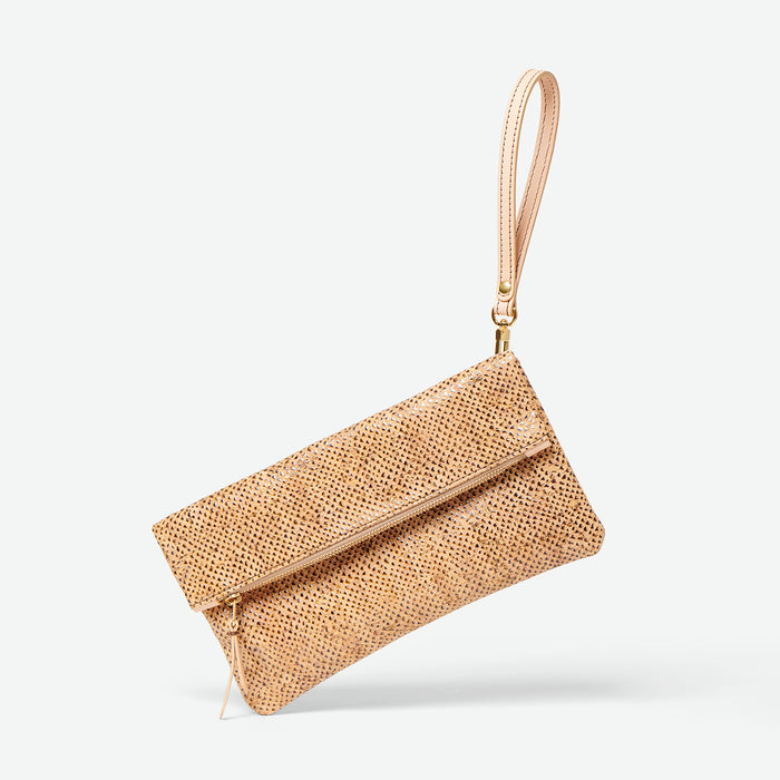 Foldover clutch bags