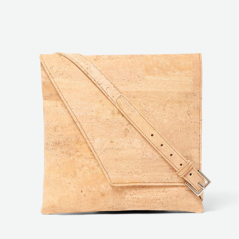 Inizio Cork Satchel - Natural