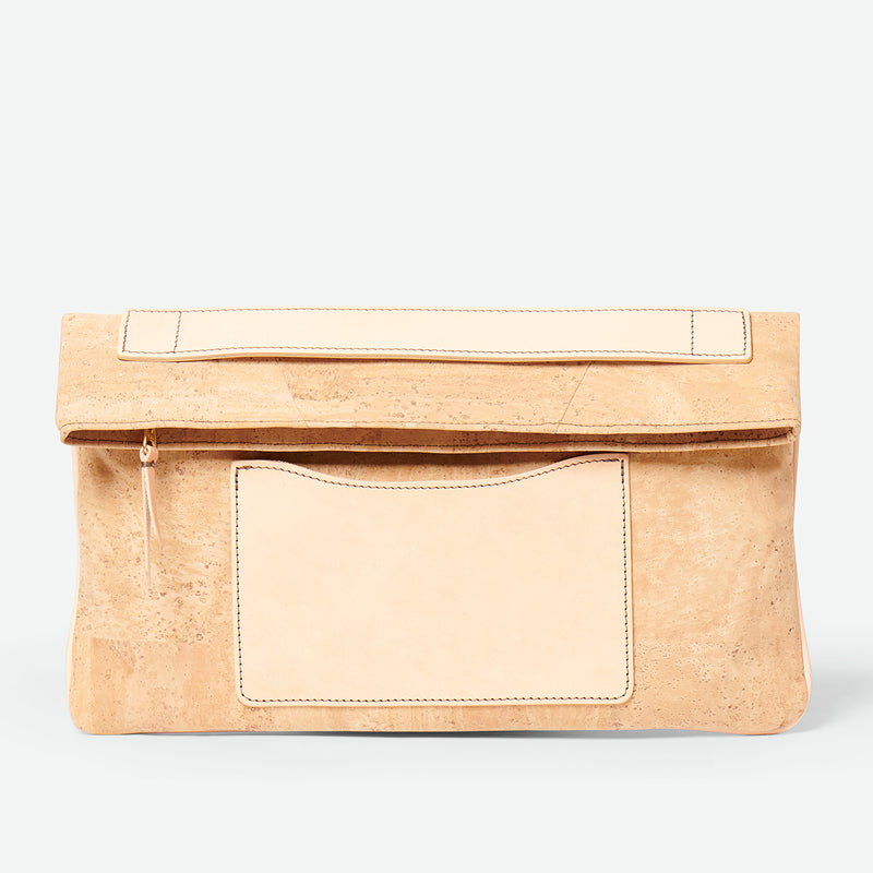 Melvia cork clutch - Paula Parisotto - Natural cork
