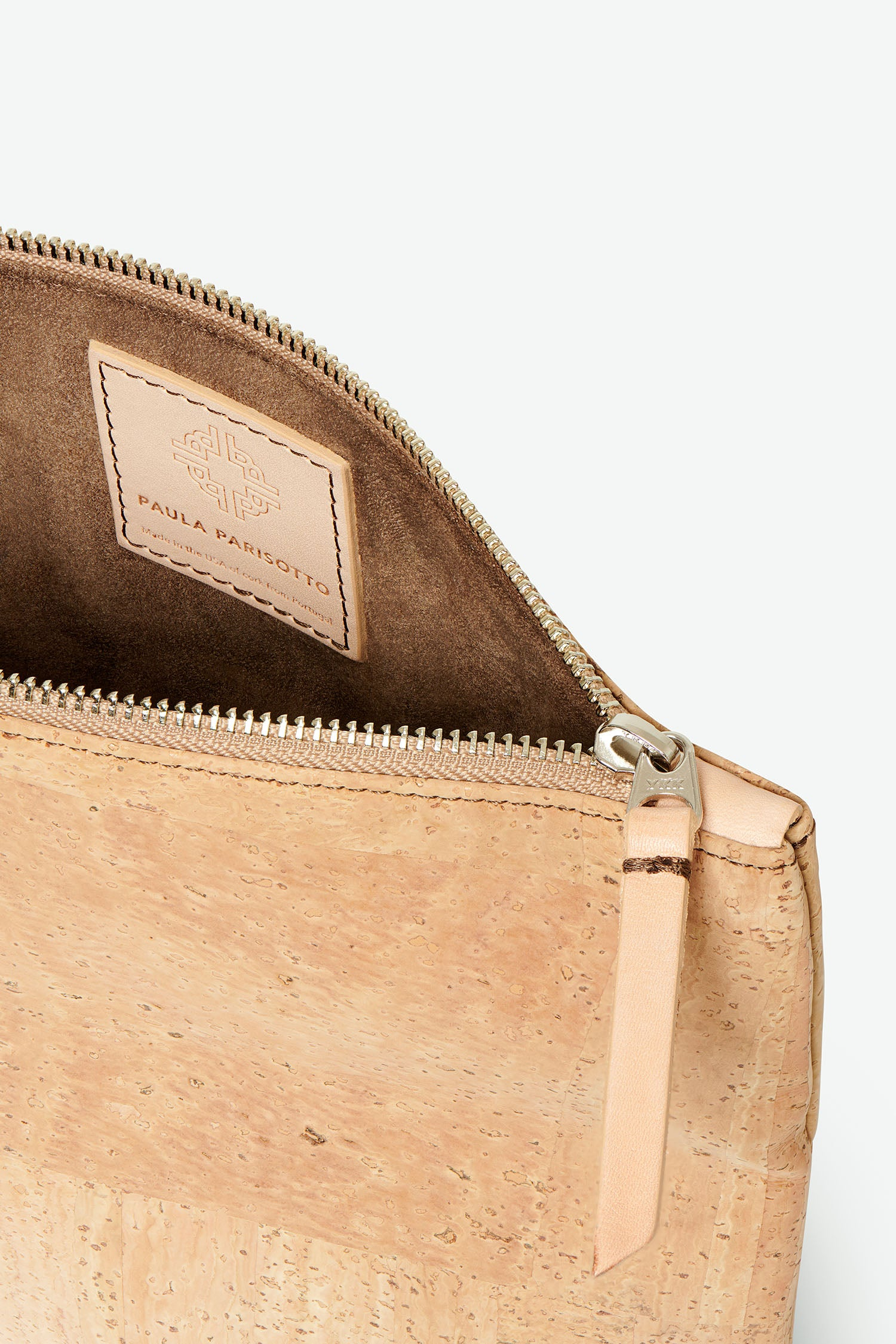 GiGi Versatile Cork Clutch - Natural