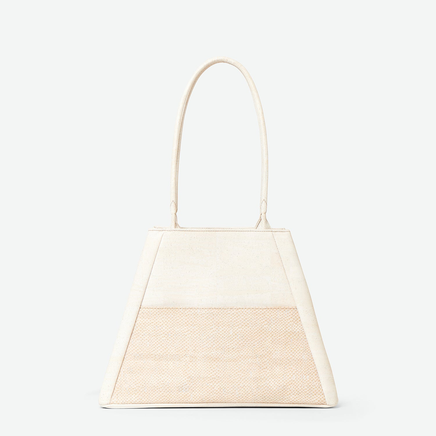 Yvonne - Cork Tote Bag - Paula Parisotto - Pearl