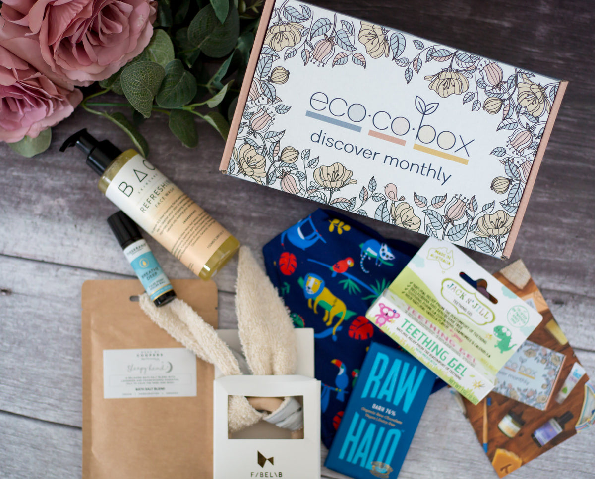 ecocobox mum and baby subscription box