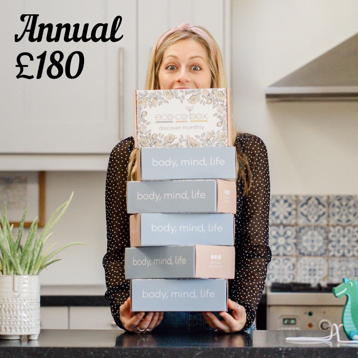 Annual gift subscription for mum and baby