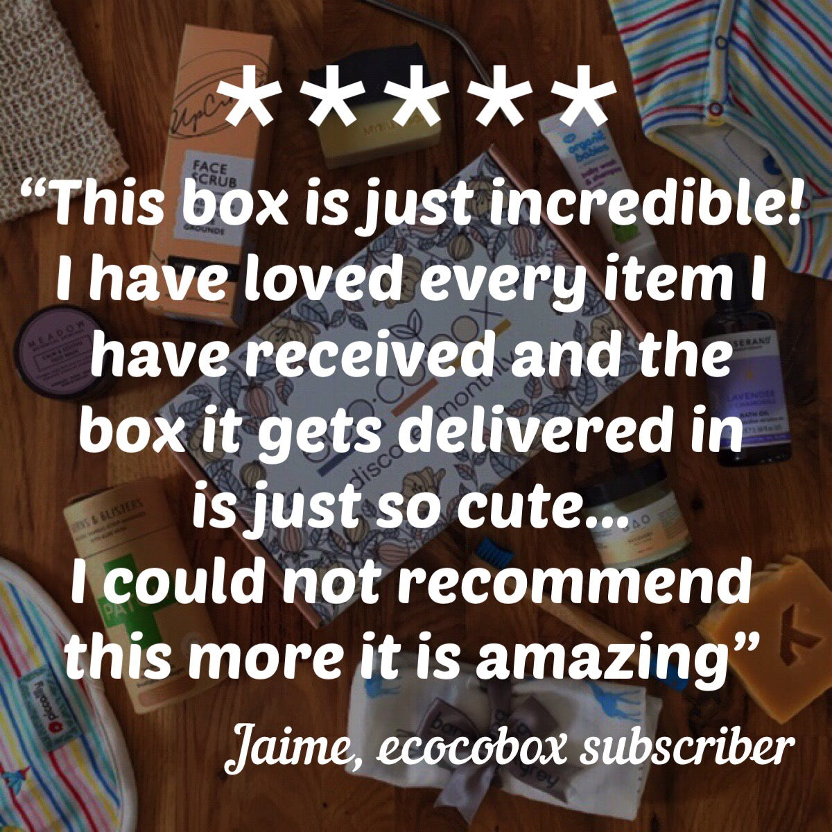 Review of mum and baby subscription box