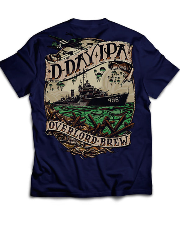 D-Day IPA - Overlord Brew - Short Sleeve