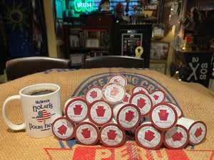 Bloody Bucket Blend Coffee Pods
