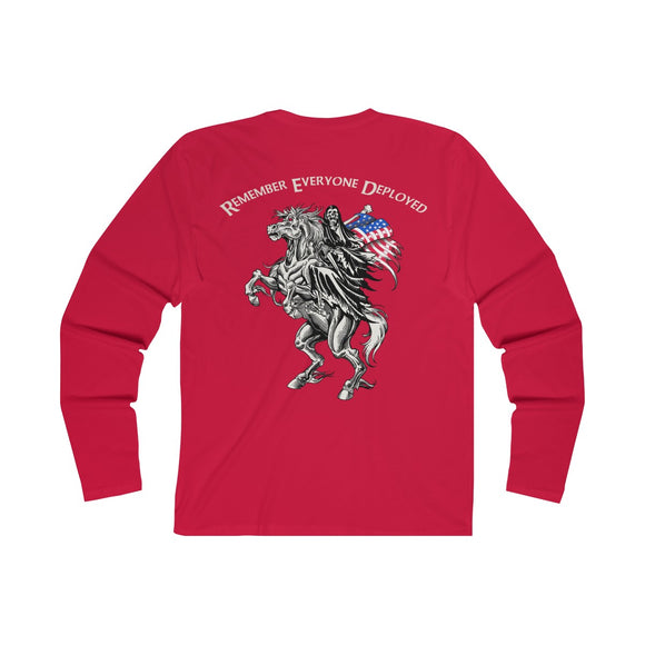 R.E.D. - Remember Everyone Deployed Long Sleeve