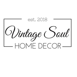 Vintage Soul Home Decor