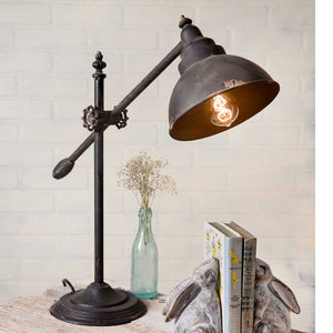 Adjustable Swing-Arm Task Lamp