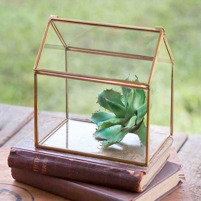 Small Glass House Tabletop Terraruim